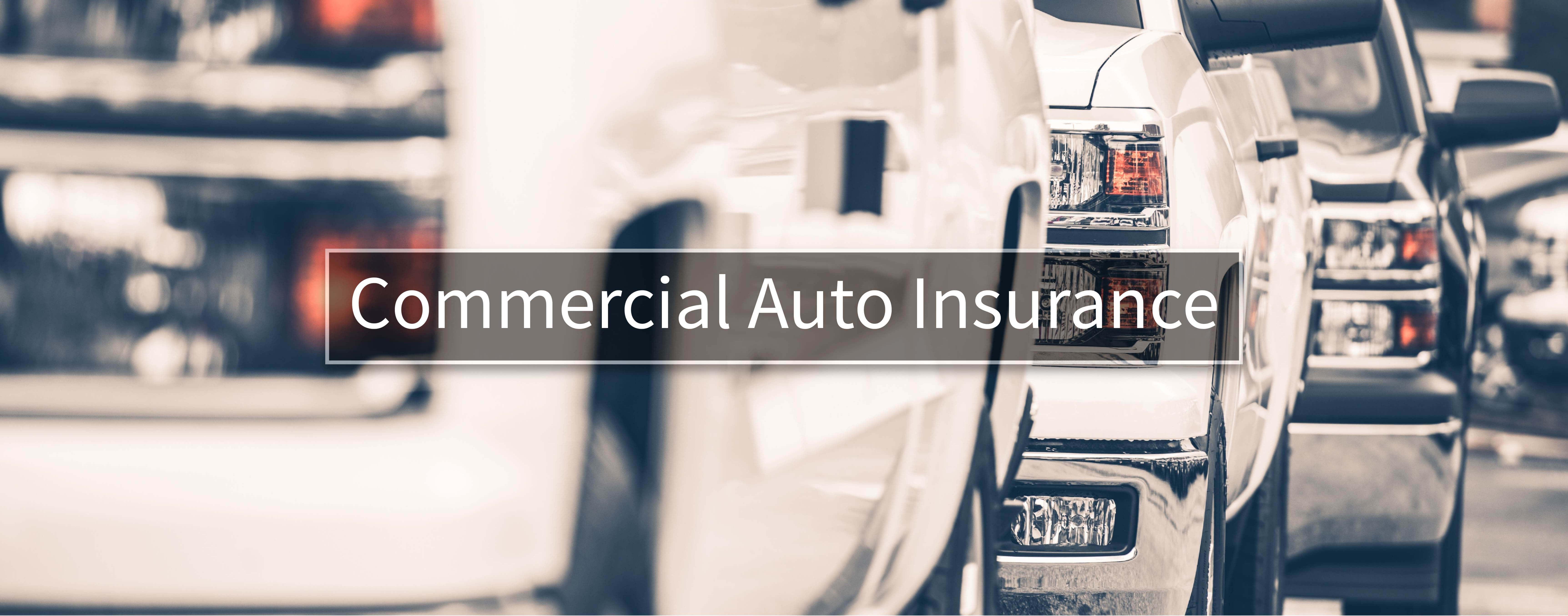 Commercial Auto Insurance Framingham